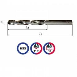 Wiertło NWKA 11,5mm szlifowane HSS