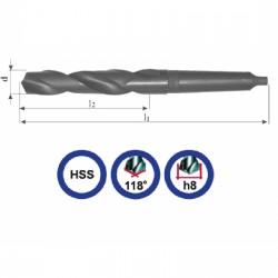 Wiertło NWKC 9,5mm walcowane HSS