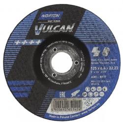 Tarcza do szlifowania T27 125x6,4x22,23mm - Norton Saint-Gobain